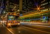 New York (TD2112) Tags: newyork nighttime radiocity usa street urban architecture lighttrails bus light streaks