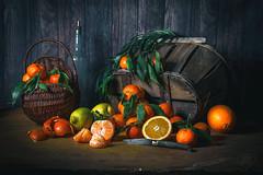 Nature morte (Deny Caron) Tags: orange clementine citron agrumes mandarine agrumi nature morte