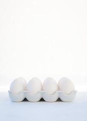 White. (anajvan) Tags: lifeisarainbow oneyearincolours white food eggs monochrome