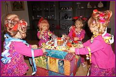 Silvesterparty... (Kindergartenkinder) Tags: silvester kindergartenkinder annette himstedt dolls annemoni milina sanrike tivi