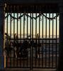 Cannon (Locked Away) (hl_1001) Tags: austria graz cannon bars locked castlehill sunset schlossberg