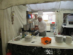 Chefs Torbet and MacDonald at work 14Oct17