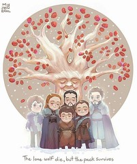 game of thrones house stark family (Game of Thrones Arts) Tags: game thrones