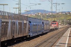 Wrong line (daveymills37886) Tags: db traxx baureihe 185 cargo weil am rhein