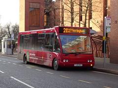 trent barton 468 Ilkeston (Guy Arab UF) Tags: trent barton 468 fj09mvs optare solo m920 bus ilkeston wharncliffe road derbyshire wellglade buses wellgladegroup