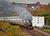 city departure (midcheshireman) Tags: steam train locomotive railway castle 5043 50xx earlofmountedgecumbe mainline cheshire chester city