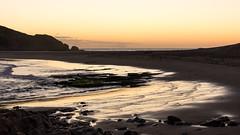 calm sunset (hjuengst) Tags: robberg naturereserve beach golden goldenlight goldenhour southafrica calm sunset silence
