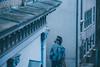 """Keep looking up... That's the secret of life."" Snoopy:) (freyavev) Tags: belgrade beograd serbia srbija knezmihailova graffiti streetart architecture vsco urban urbandetails canon canon700d blues bluetones outdoor city capitalcity lookingup"