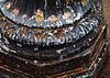 Peeling Corroded Street Light Base (Orbmiser) Tags: olympus40150mmf4056r 43rds em1 mirrorless omd olympus ore portland streetlight base corroded peeling rusted