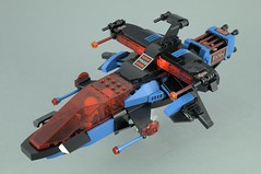 SP - Striker (BobDeQuatre) Tags: lego moc space police striker mod