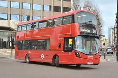 LF67 EVL (HV377) Arriva London (hotspur_star) Tags: londontransport londonbuses londonbus londonbuses2017 wrightbus volvob5lh tfl transportforlondon hybridbus hybridtechnology busscene2017 doubledeck arrivalondon lf67evl hv377 341