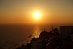 #sunset #Oia #kiklades  #santorini #greece #夕陽 #日落 #伊亞 #聖托里尼 #希臘 (Mg Lin) Tags: sunset oia kiklades santorini greece 夕陽 日落 伊亞 聖托里尼 希臘