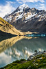 Hooker Lake Sunrise | Aoraki / Mount Cook, New Zealand (jamilabbasy) Tags: nz newzealand mountcooknationalpark canterbury hookerlake hookervalley aoraki mountcook
