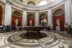 The giant porphyry basin (RH&XL) Tags: vatican museums rome italy giant porphyry basin
