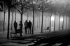 The Fantastic Four (jaume zamorano) Tags: blackandwhite blancoynegro blackwhite boira d5500 fog foggy lleida monochrome noiretblanc nikonistas niebla street streetphotography streetphoto urban urbana