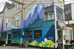 Eight 1-2 Restaurant Lounge @ 153 East 8th Avenue (Mariko Ishikawa) Tags: canada britishcolumbia vancouver mountpleasant mural art streetart publicart