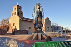 Santuario de Guadalupe (jpellgen (@1179_jp)) Tags: guadalupe mary church catholic aztec mission architecture santafe newmexico travel roadtrip nikon sigma 1770mm d7200 southwest usa america shrine history santuariodeguadalupe cross nm 2017 winter december