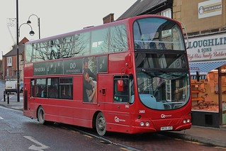 Go North East: 3963 / NK05 JXD
