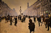 """Jean Beraud - Carrefour Drouot, Paris at New Orleans Museum of Art - New Orleans LA (mbell1975) Tags: neworleans louisiana unitedstates us jean beraud carrefour drouot paris new orleans museum art la museo musée musee muzeum museu musum müze museet finearts fine arts gallery gallerie beauxarts beaux galleria painting noma nola """"la nouvelleorléans"""" nouvelleorléans nueva nuova impression impressionist impressionism french clock city streets"""