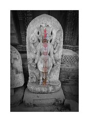 Salvaged icon (posterboy2007) Tags: nepal religeous icon earthquake destruction salvage sony bhaktapur