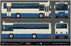 72 193 Caio Gabriela - Mercedes Benz LPO 1113 REFLEXO (busManíaCo) Tags: desenho drawn desenhodeônibus busmaníaco caiogabriela mercedesbenz