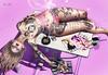 ◈№.157 - Fashion Emergency! (αlιcα r. vαɴ нell) Tags: tattoo houseofpain leluck fashion cigarette glitzz catwa