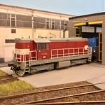 742 086-2 ČD H0 Scale 'MTB Modellbahn' 23.12.17 thumbnail