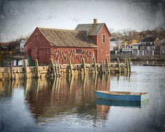 Day Breaks in Rockport - #1 (stephenstookeyphotography@gmail.com) Tags: rockport motif1 motifnumber1 sunrise rockportharbor motifno1 fishing boats lobster lobsters lobsterhut fishinghut fishingshack lobstershack boat sailboat water bay village inlet red wood barn dock buoys lobsternets markers nautical morning dawn newengland rocks massachusetts capeann lobstertraps travel stookey stephenstookey stephenstookeyphotography harbor wallart officeart atlantic coast cabin art vacationhome hotel boston grunge vintage fineartphotography