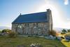 Church of the Good Shepherd (gsreejith) Tags: lake laketekapo tekapo church churchofthegoodshepherd flowers lupin flower sunset mountians newzealand nz visitnz