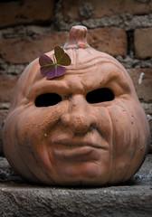 Pumpkin with attitude (jiturbe) Tags: pumpkin calabaza eyes