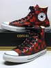 Checkered - Black & Red Hi 144336F (hadley78) Tags: cons chucks converse collection ct chucktaylors chuck taylor taylors tops top thatconverseguy guinness worldrecord world record ripleys joshuamueller checkered checkers