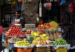 bundi 2017 (gerben more) Tags: fruit market apples banana man bundi rajasthan india