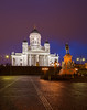 Senate square, Helsinki (Antti Tassberg) Tags: 24mmts arkkitehtuuri yö longexposure kirkko patsas kaupunki helsinki rakennus senaatintori 24mm architecture building church city cityscape dark lens lowlight night nightscape prime tiltshift urban uusimaa finland fi