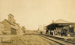 Mt. Morris IL Depot (R.G. Five) Tags: mt morris il train railroad cbq ci