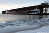 amar123017dksrise_rb (rburdick27) Tags: ice snow americanmariner oredock marquette lakesuperior sunrise