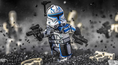 Come on Clankers! (Lego_LUTs) Tags: purple green red takodana yellow blue storm trooper star wars war lego outdoors clone troopers first order blasters afol minifigs minifigures bricks blocks canon toy toys force legos t3i republic people photoadd atst death rogue one dirt practical effects orange 60mm darth maul battlefront tree 7th sky corps snow road captain rex