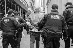 arrested (Gisele Duprez) Tags: nypd protest arrest streetphoto streetphotography
