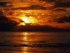 Sunset seen from Troon Ayrshire Boxing day 2017 (cmax211) Tags: sunset sundown dusk sea sky cloud sun troon ayrshire beach clyde scotland boxing day 2017 clouds