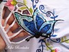 kika krauss 006 (Kika Bordados by Angelica Krauss) Tags: kikakrauss bordadosfeitoàmão butterfly borboletas embroidery embroider crafts artesanatos
