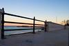 San Foca (LE) (ruggierodisavino) Tags: tramonto mare puglia blu cieloazzurro panorama italia lungomare luna street strada spiaggia