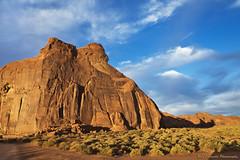 Indian Head Rock (Ray Chiarello) Tags: indianhead monumentvalley arizona desert southwest butte rock landscape sky canon5dmarkiii canonef2470mmf28liiusm