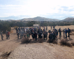 005 Long Lines At The Start (saschmitz_earthlink_net) Tags: 2018 california orienteering vasquezrocks aguadulce losangelescounty laoc losangelesorienteeringclub