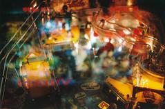Silver Carnival of Lost Souls (Jetcraftsofa) Tags: nikonf3 vivitar5528macro sb23 speedlight reala100 35mm slr filmphotography flashphotography carnival silverball haunted lostsouls