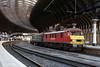 90018 1Z73 york station 31.12.2017 (Dan-Piercy) Tags: dbcargo class90 90018 york station plt5 1z73 london kingscross edinburgh newyear hogmanay private charter ecml