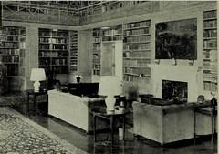 Allerton House Library, Monticello, IL 1951 (RLWisegarver) Tags: piatt county history monticello illinois usa il