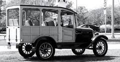 1927 Ford Model T-Sony HX20 (Preskon) Tags: nature grass trees stationwagon sarasotafl