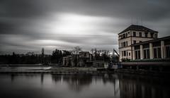 Nymburk ГЭС (gorelin) Tags: nymburk czechia czech sony sonya7 sonyfe28 ilce7m2 28mm fe28f20 river powerstation longexposure skies sky clouds