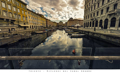 Trieste - Riflessi nel Canal Grande (Andrea di Florio (9.000.000 views!!!)) Tags: trieste canal grade canale paesaggio panorama città riflessi fiume inverno nikon d600 1424 28 prospettive river reflex city