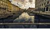 Trieste - Riflessi nel Canal Grande (Andrea di Florio (10.000.000 views!!!)) Tags: trieste canal grade canale paesaggio panorama città riflessi fiume inverno nikon d600 1424 28 prospettive river reflex city