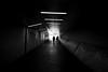 Langstrasse (maekke) Tags: zürich langstrasse tunnel underground urban architecture silhouette bw noiretblanc x100t fujifilm 2017 highcontrast availablelight ch switzerland